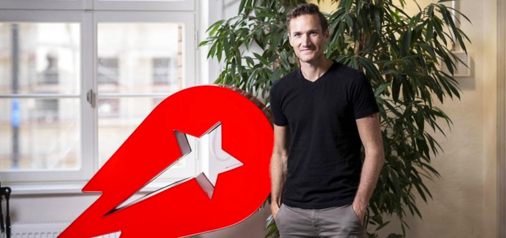 デリバリーヒーローの CEO 、 Niklas Ostberg 氏